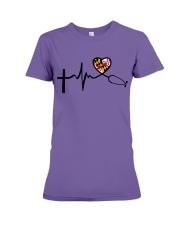 Faith Love Live Maryland Nurse Premium Fit Ladies Tee thumbnail