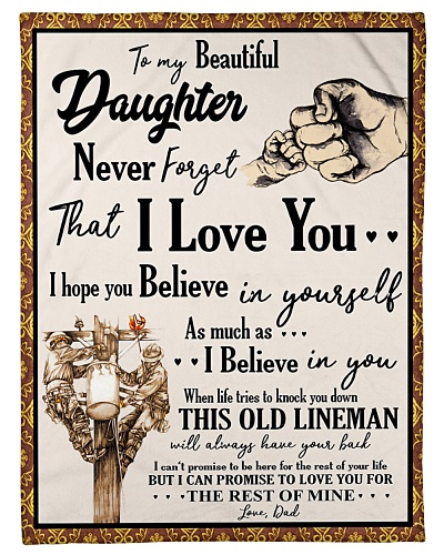 Lineman To my Daughter