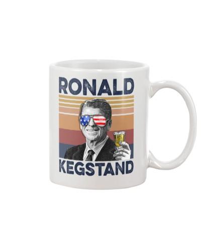 DrinkMugWhite Ronald Kegstand