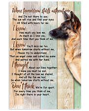 German Shepherd 24x36 Poster front