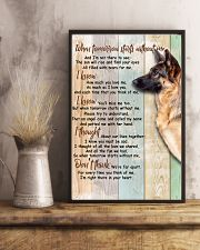German Shepherd 24x36 Poster lifestyle-poster-3