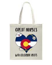 Colorado Nurse Tote Bag thumbnail