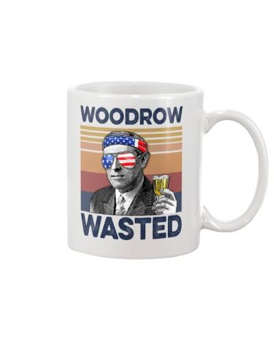DrinkMugWhite Woodrow Wasted