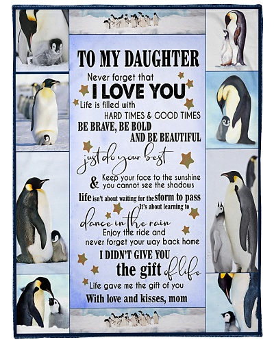 Penguin To my Daughter
