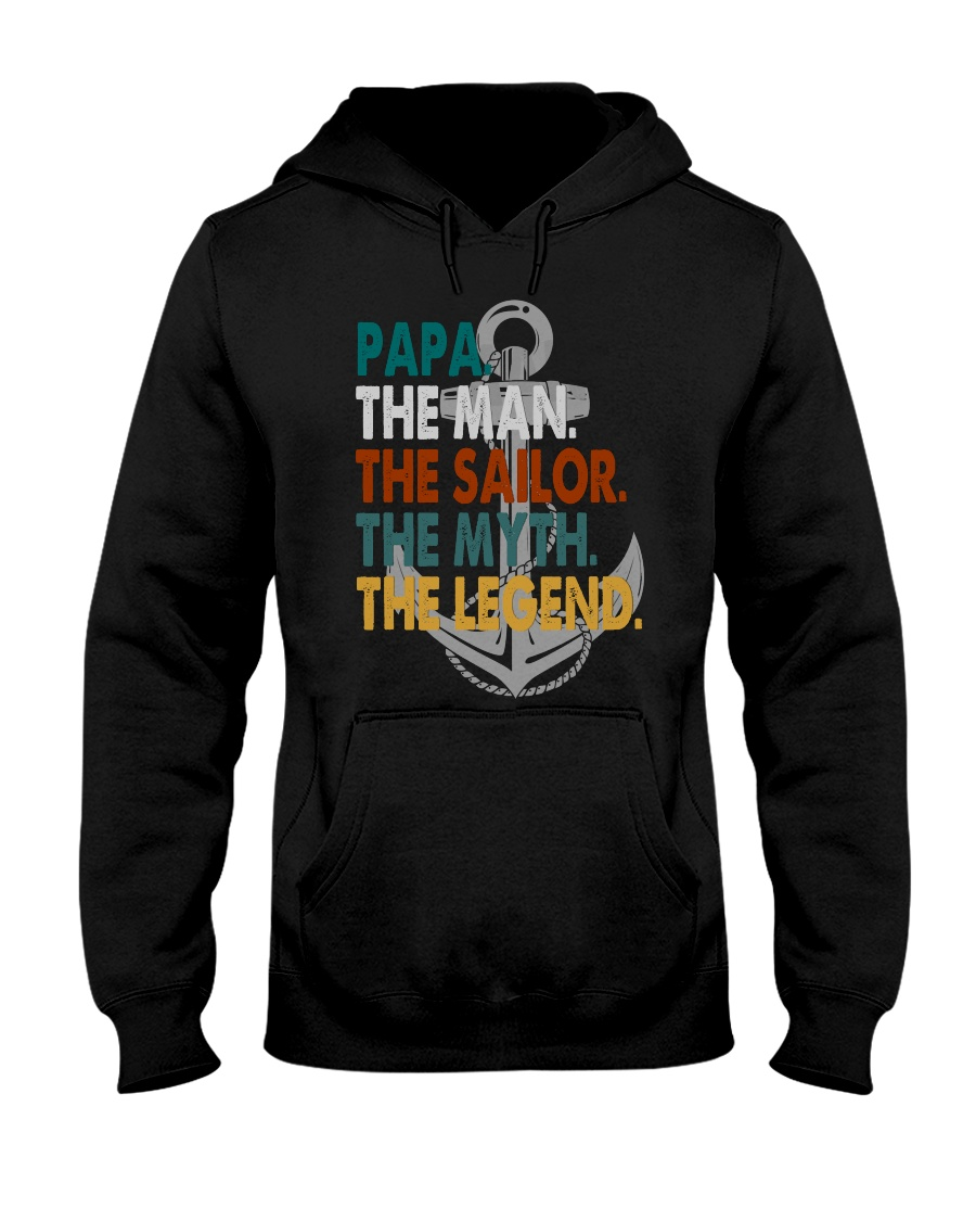 Sailor  Hooded Sweatshirt