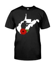 WestVirginia Veteran Day  Classic T-Shirt front