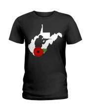 WestVirginia Veteran Day  Ladies T-Shirt thumbnail
