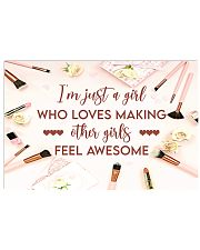 Makeup I'm just a girl  36x24 Poster front