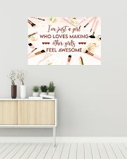 Makeup I'm just a girl  36x24 Poster poster-landscape-36x24-lifestyle-01