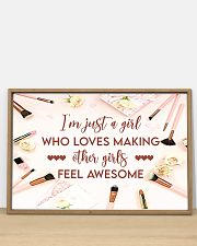Makeup I'm just a girl  36x24 Poster poster-landscape-36x24-lifestyle-03