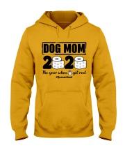 Dog Mom Hooded Sweatshirt front