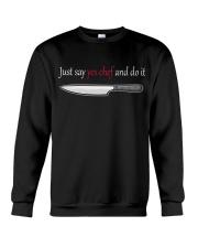 Chef Yes Crewneck Sweatshirt thumbnail