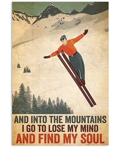 Skiing And into the mountains I go