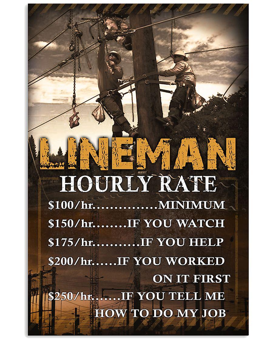 Lineman  11x17 Poster