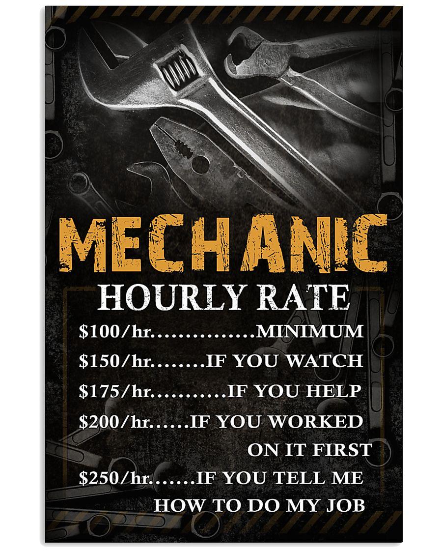 Mechanic 11x17 Poster