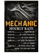 Mechanic 11x17 Poster front