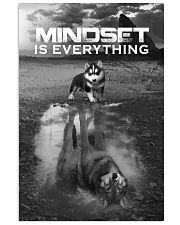 Husky Mindset 24x36 Poster front