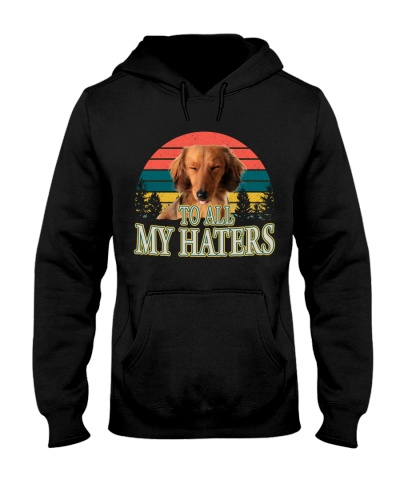 Dachshund to all my hater