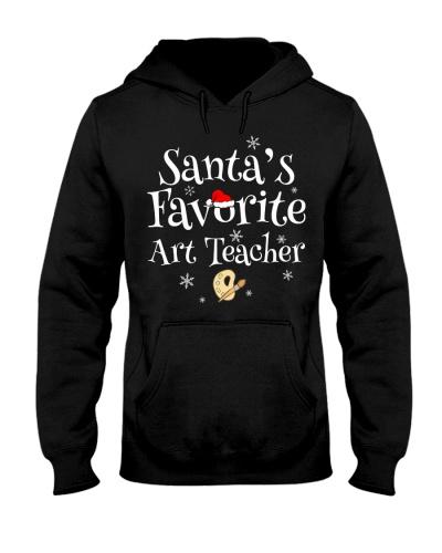 Santa's favorite Art teacher