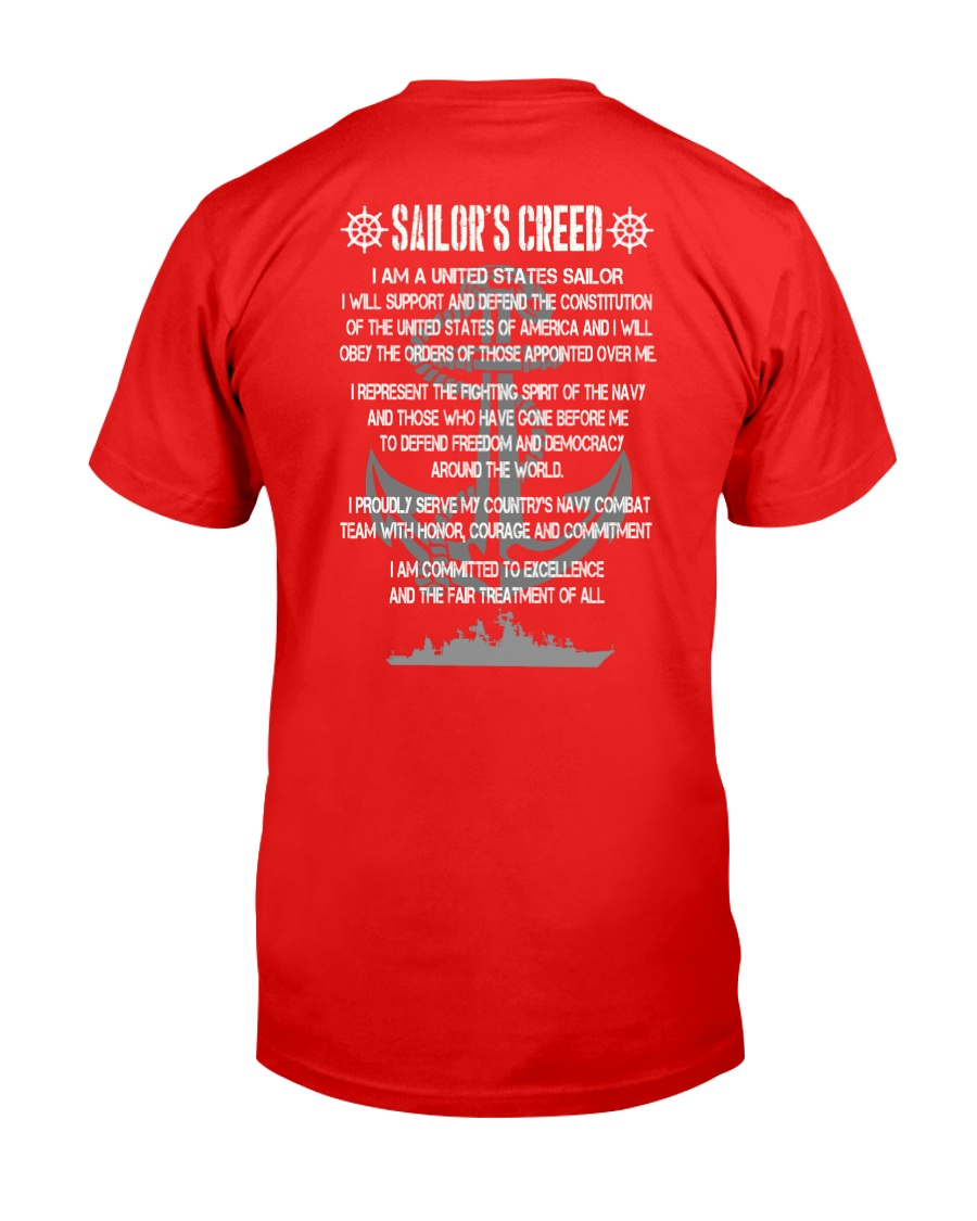Sailor Creed Classic T-Shirt showcase