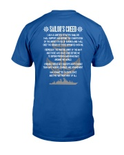Sailor Creed Classic T-Shirt back
