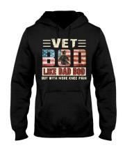Veteran  Hooded Sweatshirt front