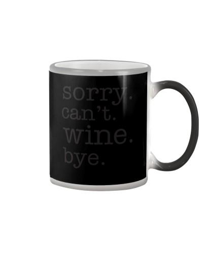 Wine Sorry