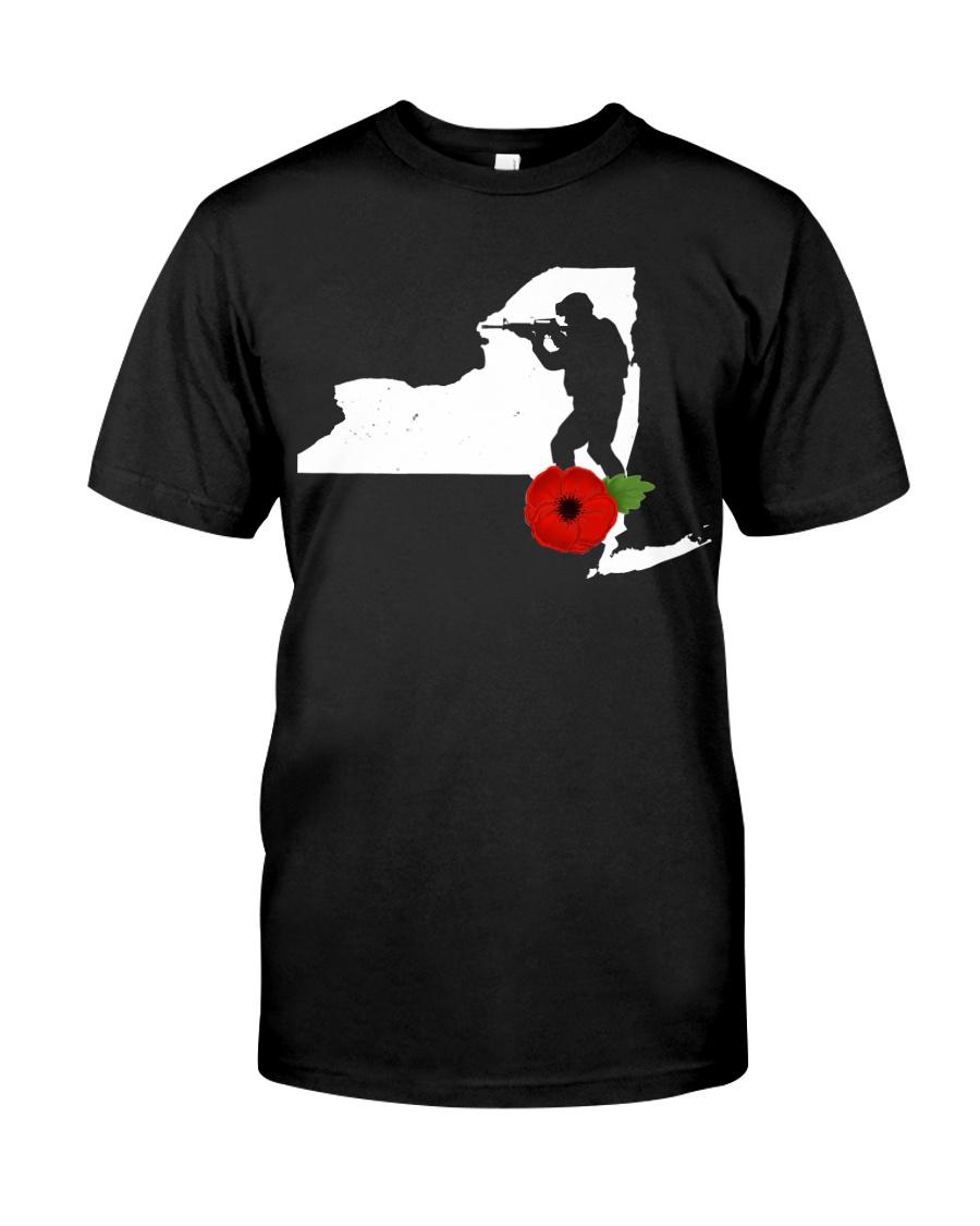 NewYork Veteran Day  Classic T-Shirt