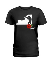 NewYork Veteran Day  Ladies T-Shirt thumbnail