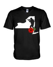 NewYork Veteran Day  V-Neck T-Shirt thumbnail