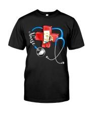 rhode island nurse Classic T-Shirt thumbnail