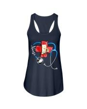 rhode island nurse Ladies Flowy Tank thumbnail