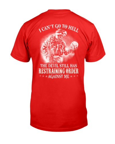 I cant go to hell Veteran