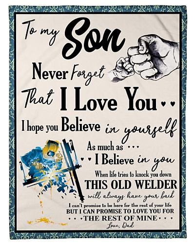 Welder To my Son