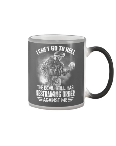 Veteran I cant go to hell the devil still