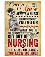 Nurse know 11x17 Poster front