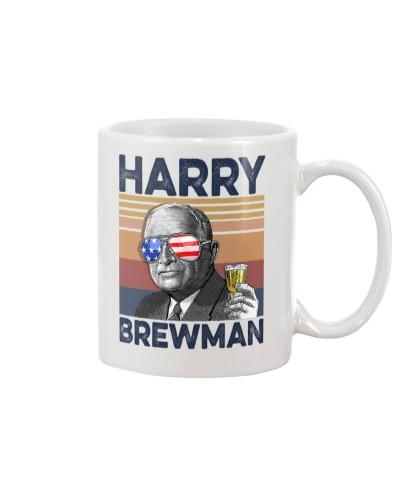 DrinkMugWhite Harry Brewman