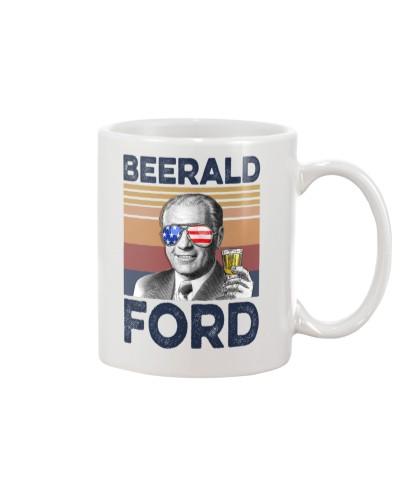 DrinkMugWhite Beerald Ford