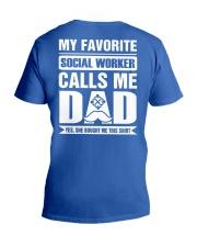 Social Worker V-Neck T-Shirt thumbnail