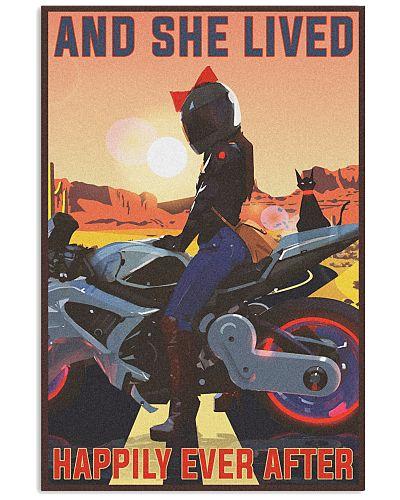 Biker And she lived