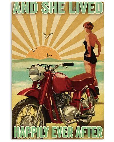 Biker She lived happily ever after