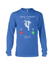 Lineman Sorry I Missed your call Long Sleeve Tee thumbnail