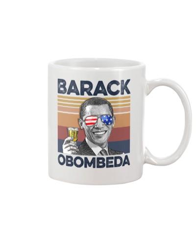 DrinkMugWhite Barack Obombeda