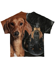Dachshund  All-over T-Shirt back