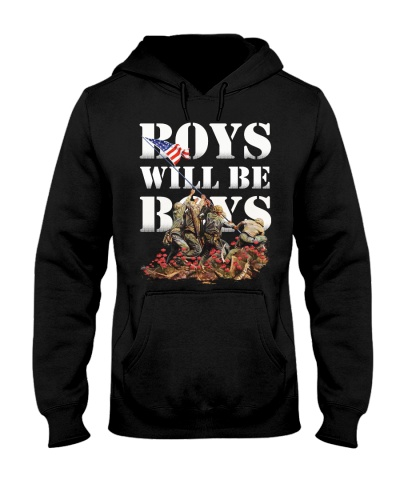 Veteran Boys will be boys
