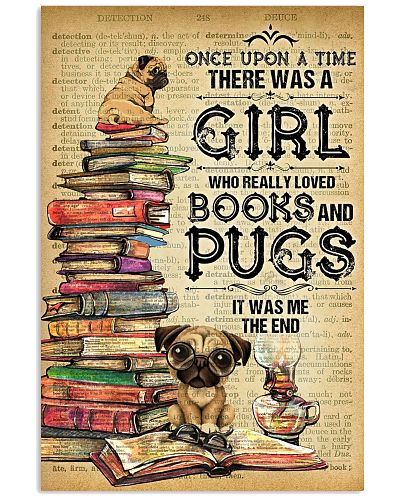 Pug And Book
