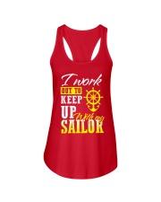Sailor Ladies Flowy Tank front