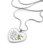 Dragonfly  Metallic Heart Necklace aos-necklace-heart-metallic-lifestyle-05