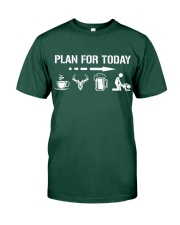 Hunting plan for today Premium Fit Mens Tee thumbnail
