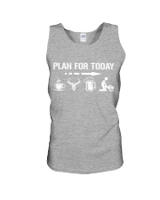 Hunting plan for today Unisex Tank thumbnail